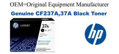 CF237A,37A Genuine Black HP Toner