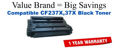 HP CF237X Black High Yield Remanufactured Toner 25,000 Yield