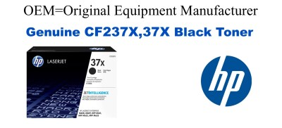 CF237X,37X Genuine High Yield Black HP Toner