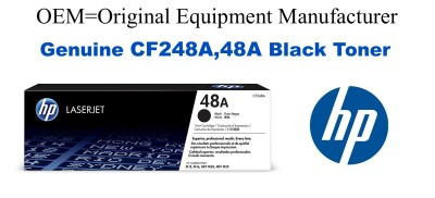 CF248A,48A Genuine Black HP Toner