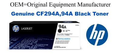 CF294A,94A Genuine Black HP Toner