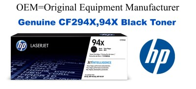 CF294X,94X Genuine High Yield Black HP Toner