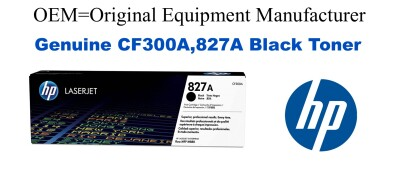 CF300A,827A Genuine Black HP Toner