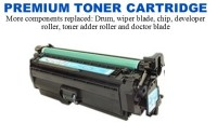 HP 654A Cyan Premium Toner Cartridge (CF331A)