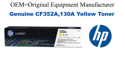 CF352A,130A Genuine Yellow HP Toner