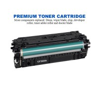 HP 508A Black Premium Compatible Toner Cartridge (CF360A)