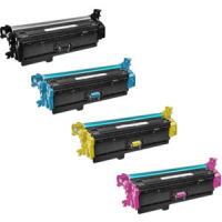 HP 508X HP 4-Color Set Economy High Yield Toner (CF360X,CF361X,CF362X,CF363X)