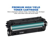 HP 508X Black Premium High Yield Compatible Toner Cartridge (CF360X)
