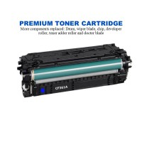 HP 508A Cyan Premium Compatible Toner Cartridge (CF361A)