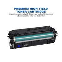 HP 508X Cyan Premium High Yield Compatible Toner Cartridge (CF361X)