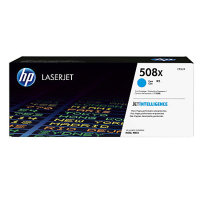 New Original HP 508X Cyan Toner Cartridge (CF361X)