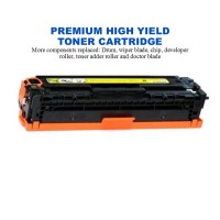 HP 508X Yellow Premium High Yield Compatible Toner Cartridge (CF362X)