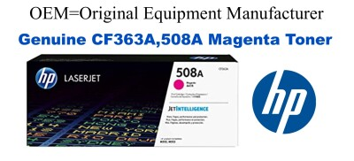 New Original HP 508A Magenta Toner Cartridge (CF363A)