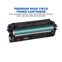 HP 508X Magenta Premium High Yield Compatible Toner Cartridge (CF363X)