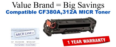 HP CF380A MICR Toner Cartridge (For Printing Bank Checks)
