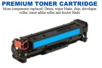 HP 201X Cyan Premium Toner Cartridge (CF401X)