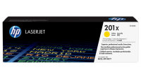 New Original HP 201X Yellow Toner Cartridge (CF402X)