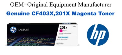 CF403X,201X Genuine High Yield Magenta HP Toner