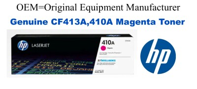 New Original HP 410A Magenta Toner Cartridge (CF413A)