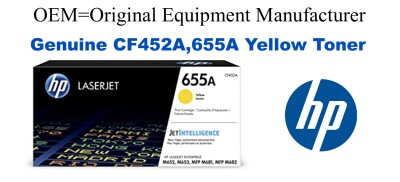 CF452A,655A Genuine Yellow HP Toner