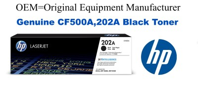CF500A,202A Genuine Black HP Toner