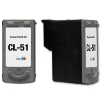 Canon CL-51 Tricolor Remanufactured Ink Cartridge (CL51)