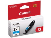 Genuine Canon CLI251XL Cyan High Yield Ink Cartridge