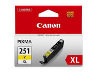 Genuine Canon CLI251XL Yellow High Yield Ink Cartridge