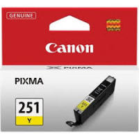 Genuine Canon CLI251 Yellow Ink Cartridge