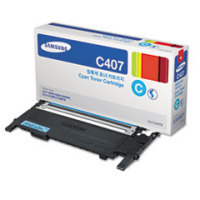 Samsung New Original CLT-C407S Cyan Toner Cartridge