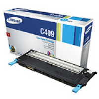 Samsung New Original CLT-C409S Cyan Toner Cartridge