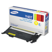Samsung New Original CLT-Y407S Yellow Toner Cartridge