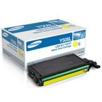 Samsung New Original CLT-Y508L Yellow Toner Cartridge