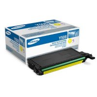 Samsung New Original CLT-Y508S Yellow Toner Cartridge