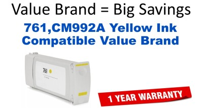 HP CM992A Yellow Reman Inkjet for T7100/T7200