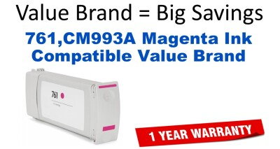 HP CM993A Magenta Reman Inkjet for T7100/T7200