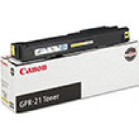 Genuine Canon 0259B001AA Yellow Toner Cartridge (GPR-21)
