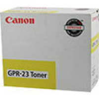 Genuine Canon 0455B003AA Yellow Toner Cartridge (GPR-23)
