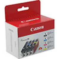 Genuine Canon 0620B010  (4 Color Combo Pack) (CLI-8)