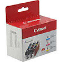 Genuine Canon 0621B016  (3 Color Combo Ink Pack) (CLI-8)
