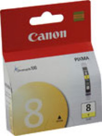 Genuine Canon CLI-8Y Yellow Ink Cartridge (0623B002)