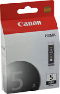 Genuine Canon PGI-5BK Black Ink Cartridge (0628B002)