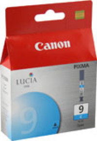 Genuine Canon PGI-9C Cyan Ink Cartridge (1035B002)