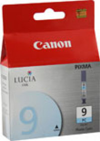 Genuine Canon PGI-9PC Photo Cyan Ink Cartridge (1038B002)