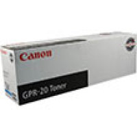 Genuine Canon 1068B001AA Cyan Toner Cartridge (GPR-20)