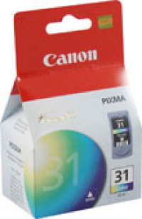 Genuine Canon CL-31 Tri-Color Ink Cartridge (1900B002)