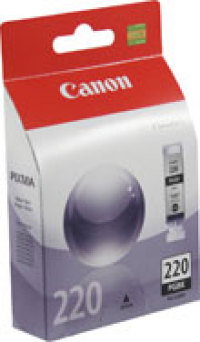 Genuine Canon PGI-220 Black Ink Cartridge (2945B001)