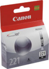 Genuine Canon CLI-221BK Black Ink Cartridge (2946B001)