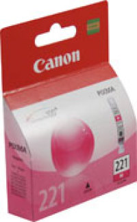 Genuine Canon CLI-221M Magenta Ink Cartridge (2948B001)