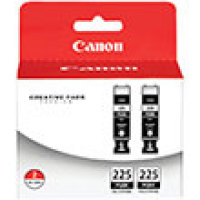 Genuine Canon 4530B007 Black Ink Cartridge (PGI-225)